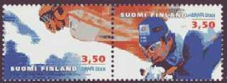 ski jumper Janne Ahonen in mid-air