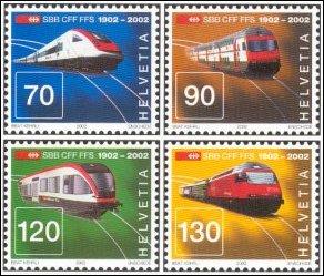 Centenary of Swiss Railways