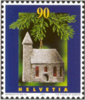Swiss Christmas stamp