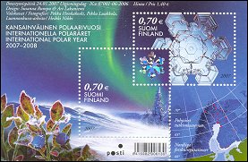 Polar Year on Finland 2007 stamps