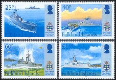 Falkland Islands Maritime heritage 2007 stamps