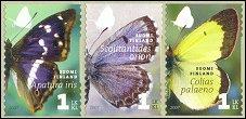Butterflies stamps 2007 Finland
