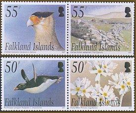 Saunders Island stamps 2007 Falkland Islands