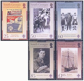Scouts of the Quest stamps 2007