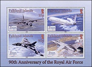 Anniversary RAF on Falkland Islands
