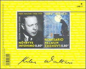 Mika Waltari stamps