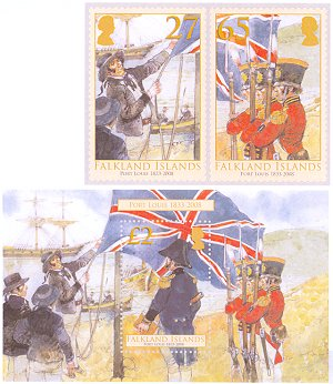 Port Louis on Falkland Islands