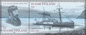 Detail Nordenskiöld stamps sheet