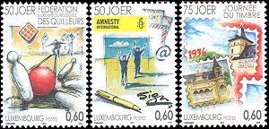 Postzegels Luxemburg