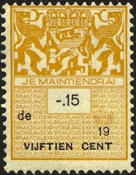 Belastingzegel Nederland