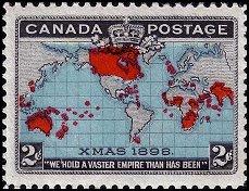 Canada kerstzegel 1898