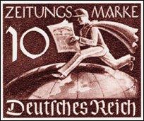 Duitse krantenzegel