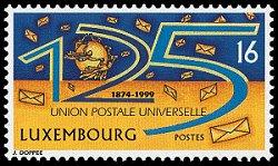 UPU-zegel Luxemburg 1999