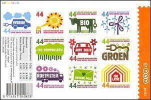 Nederland zelfklevende postzegels