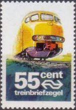 Spoorwegzegel Nederland