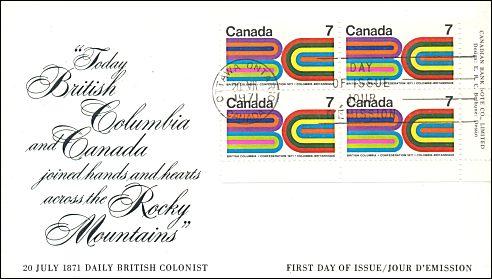 British Columbia Canada 1971