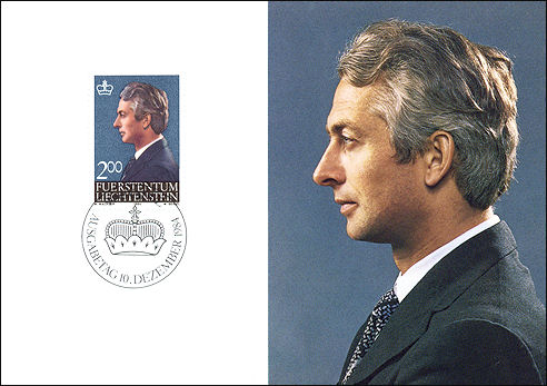 Hans Adam von Liechtenstein 1984