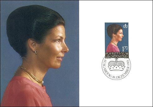 Marie von Liechtenstein, 1984