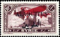 Postzegel Alaouites