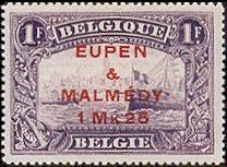 Postzegel Eupen en Malmédy