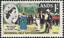 Postzegel Cook eilanden