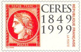 Ceres waarde-indruk briefkaart 1999