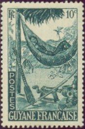 Postzegel Frans-Guyana