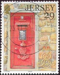 Postzegel Jersey