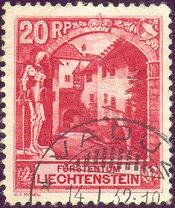 Postzegel Liechtenstein
