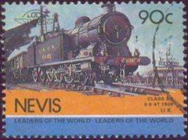 Postzegel Nevis
