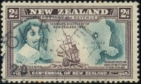 Postzegel Nieuw-Zeeland