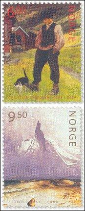 Postzegels Noorwegen