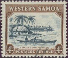 Postzegel Samoa