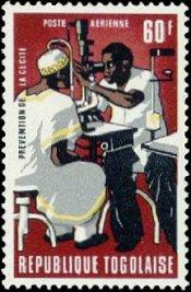 Postzegel Togo