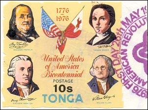Postzegel Tonga