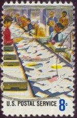Post sorteren