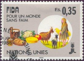 Postzegel Verenigde Naties Geneve