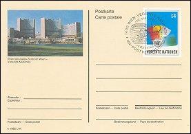 Verenigde Naties Wenen Briefkaart