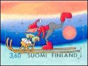 Kerstzegels Finland 2001