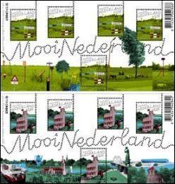 Mooi Nederland postzegels