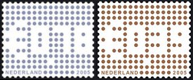 Zakelijke postzegels met gratis attentiewaarde
