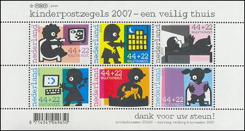 Kinderzegels 2007