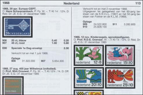 NVPH Catalogus Nederland