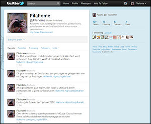 Twitteraccount Filahome