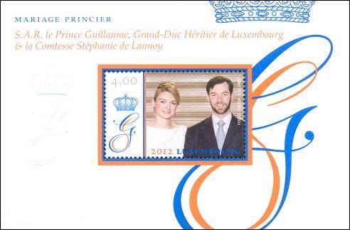 Huwelijk Willem en Stéphanie
