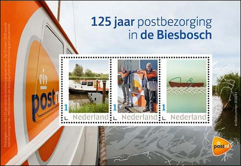 125 jaar postbezorging in de Biesbosch