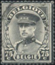 België Rouwzegel Albert I