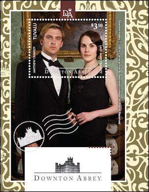 Downton Abbey postzegel