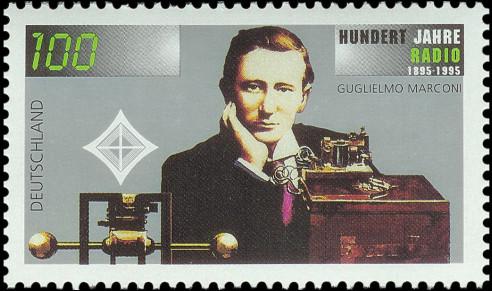 Marconi op Duitse postzegel