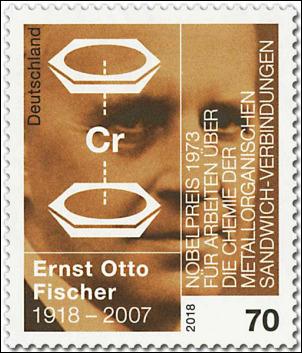 Deutsche Post: Ernst Otto Fischer, 2018